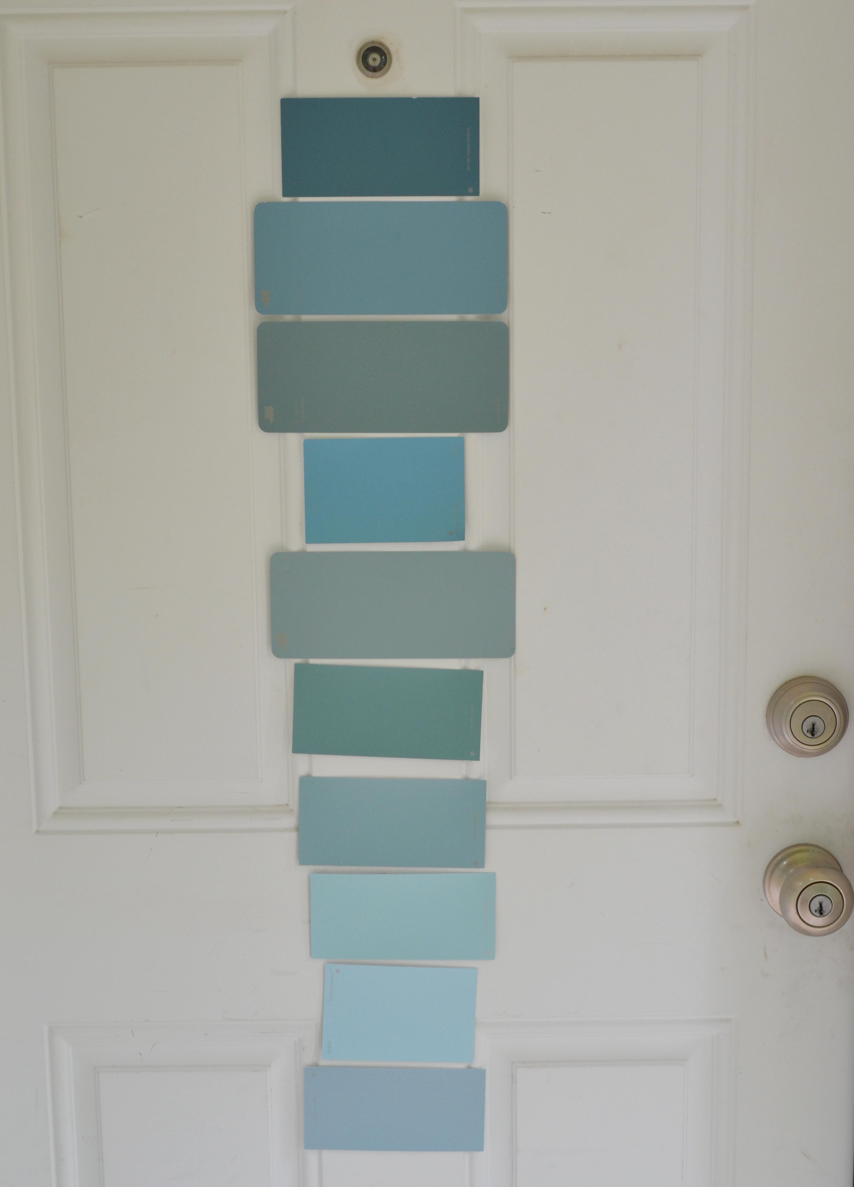Martha stewart exterior paint colors home depot - Exterior blue paint set ...