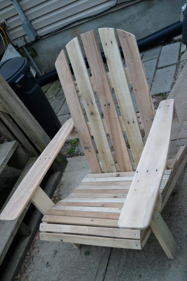 diy pallet adirondack chair plans