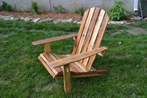 diy adirondack chair pallet