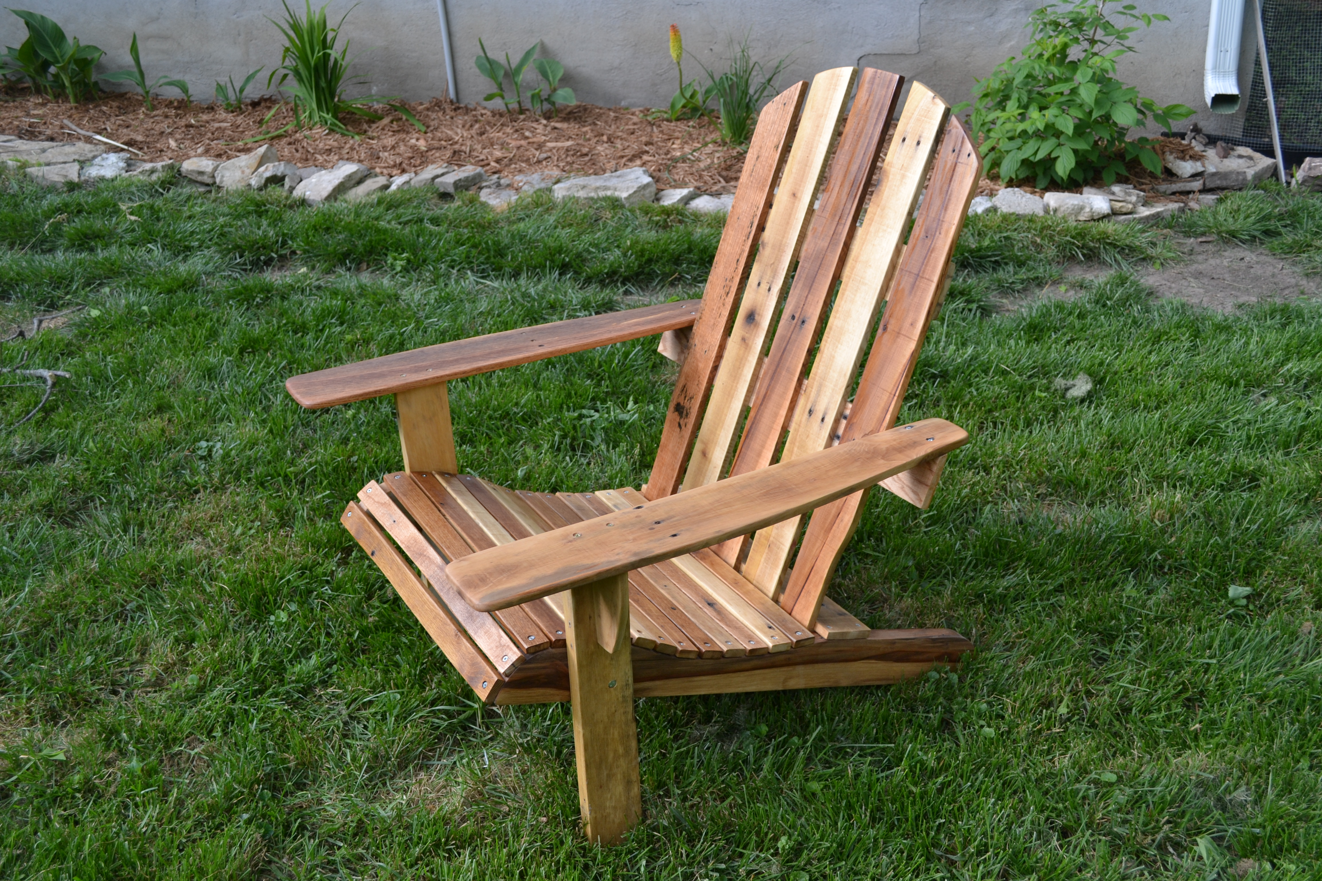 How To Build Adirondack Lounge Chair